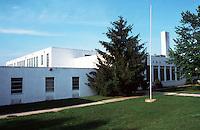 Greenbelt:  North Elementary School--closed.  Photo '85.
