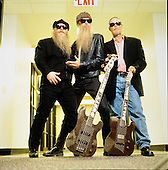 May 2000: ZZ TOP - Photosession in Paris France