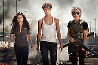 Untitled Terminator Reboot (2019)<br /> Natalia Reyes as &ldquo;Dani Ramos,&rdquo; Mackenzie Davis as &ldquo;Grace,&rdquo; Linda Hamilton as &ldquo;Sarah Connor&rdquo;<br /> *Filmstill - Editorial Use Only*<br /> CAP/MFS<br /> Image supplied by Capital Pictures