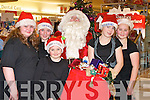 ...OPEN: Open night for customers of CH Chemist Tralee on Friday night some of the children meet upwith Santa. L-r: Flossie Plain, Samanta McCarthy, Jessica Clifford, Tabitha Plain and Niamh Prendivlle.............   Copyright Kerry's Eye 2008