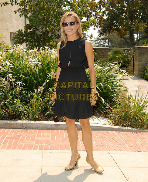 "SHERYL CROW.The Estee Lauder Garden Luncheon in Honor of Gwyneth Paltrow and the ""pleasures by Gwyneth Paltrow"" Limited Edition Launch held at The Greystone Estate in Beverly HIlls, California, USA..September 20th, 2006.Ref: DVS.full length black dress sunglasses shades sleeveless.www.capitalpictures.com.sales@capitalpictures.com.©Debbie VanStory/Capital Pictures"