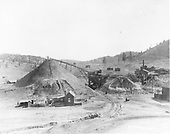Looking east at coal mine and loading facilities.<br /> D&amp;RGW  Monero, NM  ca. 1900