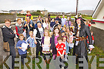 Kids taking part in a Treasure Hunt in Portmagee on Saturday as part of the Sea Shanty Festival under the watchful eye of Pirate Captain Theodore McGee.