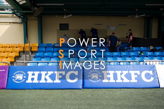 Branding at GFI HKFC Rugby Tens 2016 on 06 April 2016 at Hong Kong Football Club in Hong Kong, China. Photo by Juan Manuel Serrano / Power Sport Images