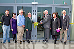 SPORTS COMPLEX: Sean Walsh (Munster Council) official opening the John Mitchels GAA Sports Complex on Sunday l-r: John Fitzgerald (committee official), Joan O'Sullivan (juvenile secretary), Conor O'Donovan (juvenile chairman), Haulie Lynch (President), Sean Walsh (Munster Council), Brid McElligott (Chairperson) and Liam Scanlon (treasurer).