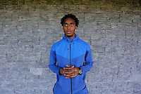 FAO STEVEN BLOOR<br /> Swansea City footballer Leroy Fer at the club's Fairwood training ground, Wales, UK. Wednesday 31 August 2016