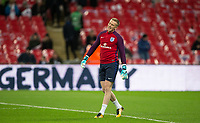 Goalkeeper Jordan Pickford (Everton) of England ahead of the International Friendly match between England and Germany at Wembley Stadium, London, England on 10 November 2017. Photo by Andy Rowland.