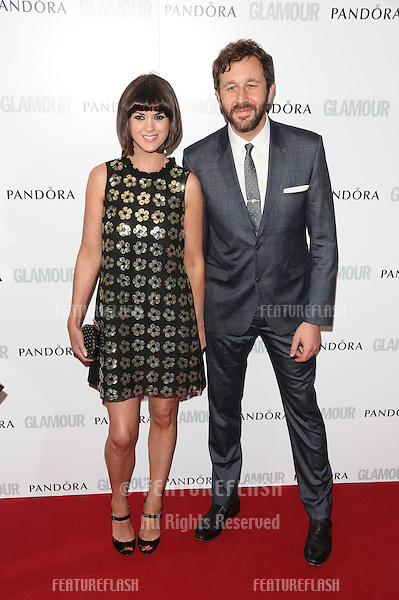 Chris O'Dowd, Dawn Porter arriving for the 013 Glamour Women of The Year Awards, Berkeley Square, London. Picture by: Henry Harris / Featureflash