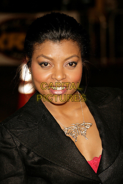 "TARAJI P. HENSON.At the ""Shooter"" Los Angeles Premiere held at Mann Village Theatre, Westwood, California, USA, 08 March 2007..portrait headshot.CAP/ADM/ZL.©Zach Lipp/AdMedia/Capital Pictures."