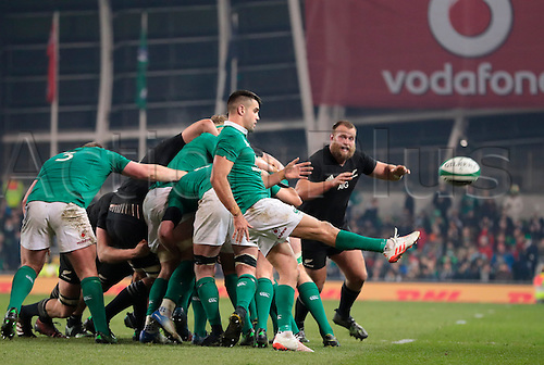 19.11.2016. Aviva Stadium, Dublin, Ireland. Guinness Autumn International Rugby. Ireland versus New Zealand.<br />
