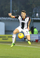 Kyle Magennis in the St Mirren v Hamilton Academical Scottish Professional Football League Ladbrokes Premiership match played at the Simple Digital Arena, Paisley on 1.12.18.
