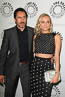 "LOS ANGELES - JUN 24:  Demian Bichir, Diane Kruger at the ""The Bridge"" Screening & Panel Discussion at the Paley Center For Media on June 24, 2014 in Beverly Hills, CA"