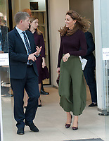 The Duchess of Cambridge, Patron of the Museum, visits the Natural History Museum's Angela Marmont Centre for UK Biodiversity, London, England on October 09, 2019.<br /> CAP/TSC<br /> ©TSC/Capital Pictures /MediaPunch ***NORTH AMERICAS ONLY***