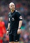 Referee Anthony Taylor during the English Premier League match at Anfield Stadium, Liverpool. Picture date: April 1st 2017. Pic credit should read: Simon Bellis/Sportimage