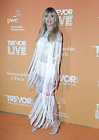 17  November 2019 - Beverly Hills, California - Heidi Klum. The Trevor Project's TrevorLIVE LA 2019 held at The Beverly Hilton Hotel. Photo Credit: PMA/AdMedia