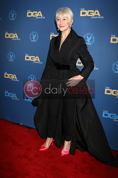 Helen Mirren<br /> at the 71st Annual Directors Guild Of America Awards, Ray Dolby Ballroom, Hollywood, CA 02-02-19<br /> David Edwards/DailyCeleb.com 818-249-4998