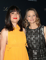 LOS ANGELES, CA -APRIL 9: Pamela B. Green, Jodie Foster, at Los Angeles Premiere Be Natural: The Untold Story of Alice Guy- Blach&eacute; at Harmony Gold Theater in Los Angeles, California on April 9, 2019.<br /> CAP/MPIFS<br /> &copy;MPIFS/Capital Pictures