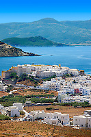 Naxos town. Greek Cyclades Islands Greece