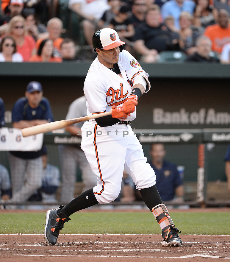 Baltimore Orioles Manny Machado (13) during a game against the Tampa Bay Rays on June 25, 2016 at Oriole Park at Camden Yards in Baltimore, MD. The Orioles beat the Rays 8-6.