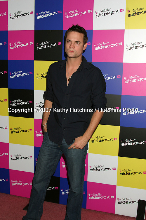 Shane West.T-Mobile Sidekick Party.T-Mobile Sidekick Lot.Los Angeles, CA.April 14, 2007.©2007 Kathy Hutchins / Hutchins Photo....
