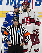 Matt Serratore (AFA - 12), Lewis Zerter-Gossage (Harvard - 77) - The Harvard University Crimson defeated the Air Force Academy Falcons 3-2 in the NCAA East Regional final on Saturday, March 25, 2017, at the Dunkin' Donuts Center in Providence, Rhode Island.