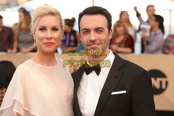 29 January 2017 - Los Angeles, California - Elspeth Keller, Reid Scott. 23rd Annual Screen Actors Guild Awards held at The Shrine Expo Hall. <br /> CAP/ADM/FS<br /> &copy;FS/ADM/Capital Pictures