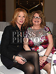 Louise Kavanagh and Mary Walsh at the St. Colmcilles gala ball in City North hotel. Photo:Colin Bell/pressphotos.ie