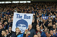 Chelsea fans hold up an image of Antonio Conte Chelsea manager prior to the kick-off for the Premier League match between WBA and Chelsea played at The Hawthorns Stadium, Birmingham on 12th May 2017 Football - Premier League 2016/17 West Bromwich Albion v Chelsea Hawthorns, The, Birmingham Rd, West Bromwich, United Kingdom 12 May 2017 <br /> Il Chelsea allenato da Antonio Conte vince la Premier League <br /> Foto Bpi/Imago/Insidefoto <br /> ITALY ONLY