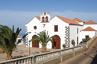 Spain, Canary Islands, La Palma, Villa de Garafia, Santo Domingo: village church