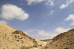 Israel, Wadi Havarim in the Negev