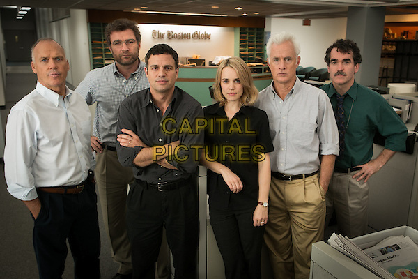 Spotlight (2015)   <br /> Michael Keaton, Liev Schreiber, Mark Ruffalo, Rachel McAdams, John Slattery, Brian d'Arcy James <br /> *Filmstill - Editorial Use Only*<br /> CAP/KFS<br /> Image supplied by Capital Pictures