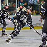 16 November 2013: Providence College Friar Forward Brandon Tanev, a Sophomore from Toronto, Ontario, in action against the University of Vermont Catamounts at Gutterson Fieldhouse in Burlington, Vermont. The Friars shut out the Catamounts to sweep the 2-game weekend Hockey East Series. Mandatory Credit: Ed Wolfstein Photo *** RAW (NEF) Image File Available ***