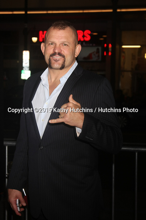 "LOS ANGELES - JAN 20:  Chuck Liddell at the ""Manny"" Los Angeles Premiere at a TCL Chinese Theater on January 20, 2015 in Los Angeles, CA"