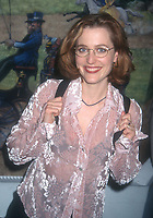 Gillian Anderson 1996<br /> Fox TV Upfront<br /> Photo By John Barrett/PHOTOlink
