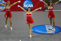 15 December 2007: Stanford Cardinal Dollies during Stanford's 25-30, 26-30, 30-23, 30-19, 8-15 loss against the Penn State Nittany Lions in the 2007 NCAA Division I Women's Volleyball Final Four championship match at ARCO Arena in Sacramento, CA.