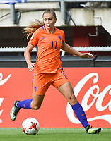 20170806 - ENSCHEDE , NETHERLANDS : Dutch Lieke Martens   pictured during the female soccer game between The Netherlands and Denmark  , the final at the Women's Euro 2017 , European Championship in The Netherlands 2017 , Sunday 6th of August 2017 at Grolsch Veste Stadion FC Twente in Enschede , The Netherlands PHOTO SPORTPIX.BE | DIRK VUYLSTEKE