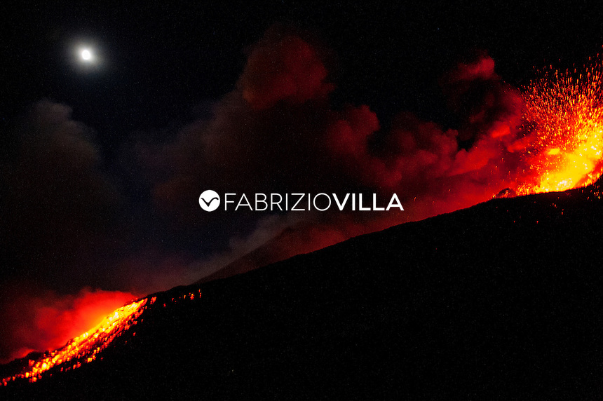 Etna, eruzione vulcanica del 7 agosto 2014