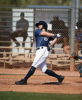Nate Easley - San Diego Padres 2019 spring training (Bill Mitchell)