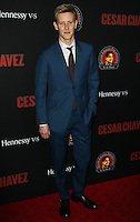 "HOLLYWOOD, LOS ANGELES, CA, USA - MARCH 20: Gabriel Mann at the Los Angeles Premiere Of Pantelion Films And Participant Media's ""Cesar Chavez"" held at TCL Chinese Theatre on March 20, 2014 in Hollywood, Los Angeles, California, United States. (Photo by Celebrity Monitor)"