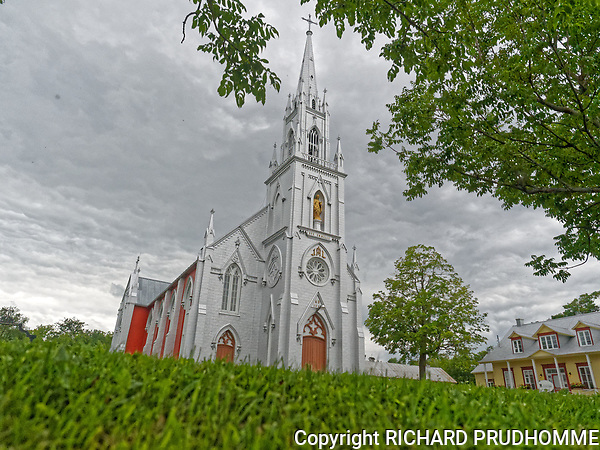 Ste-Emmelie Catholic Church in Leclercville,Quebec