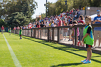 Stanford, CA;  Sunday October 1, 2017;  Woman's Soccer vs Arizona State;  Final Score Stanford 6 Arizona State 0