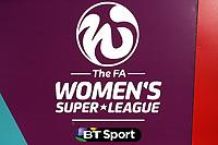 FAWSL logo during Arsenal Women vs Sunderland AFC Ladies, FA Women's Super League FA WSL1 Football at Meadow Park on 12th November 2017