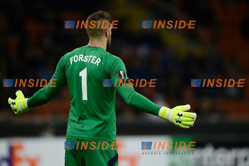 Fraser Forster Southampton<br /> Milano 20-10-2016 Stadio Giuseppe Meazza - Football Calcio Europa League Inter - Southampton. Foto Giuseppe Celeste / Insidefoto
