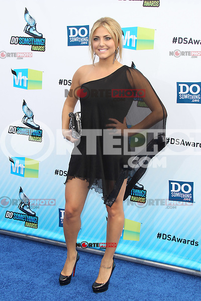 SANTA MONICA, CA - AUGUST 19: Cassie Scerbo at the 2012 Do Something Awards at Barker Hangar on August 19, 2012 in Santa Monica, California. Credit: mpi21/MediaPunch Inc. /NortePhoto.com<br />