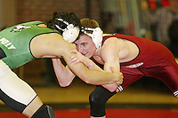9 February 2005: Nathan Peterson during wrestling at Burnham Pavilion in Stanford, CA.