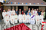 Holy men<br /> -------------<br /> Bishop of Kerry,Ray Browne and Bishop of Cloyne Bill Crean,seated 4th&amp;5th Lt,pictured with many other priests and lay people from the parish of Tralee after celebrating mass at Rath cemetery,Tralee last Wednesday evening