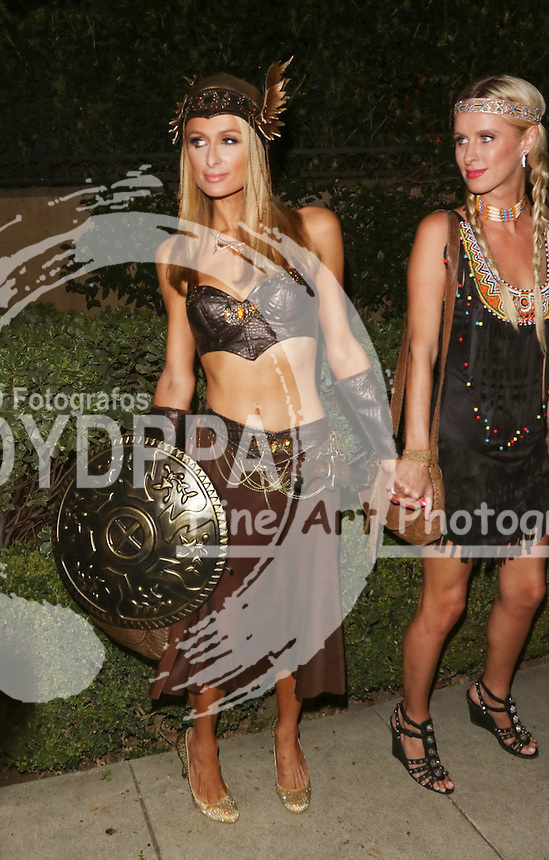 **ALL ROUND PICTURES FROM SOLARPIX.COM**<br /> **SOLARPIX RIGHTS - UK, AUSTRALIA, DENMARK, PORTUGAL, S. AFRICA, SPAIN &amp; DUBAI (U.A.E) &amp; ASIA (EXCLUDING JAPAN) ONLY**<br /> 2015 Casamigos Tequila Halloween Party - Arrivals - Private Residence - Beverly Hills, CA, USA<br /> This pic:   Paris Hilton<br /> **STRICTLY NO ONLINE USAGE WITHOUT PRIOR AGREEMENT**<br /> JOB REF:  18760 PHZ  DATE:  30.10.15<br /> **MUST CREDIT SOLARPIX.COM AS CONDITION OF PUBLICATION**<br /> **CALL US ON: +34 952 811 768**