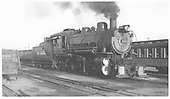 D&amp;RGW #1177 steamed up at Alamosa.<br /> D&amp;RGW  Alamosa, CO  Taken by Maxwell, John W. - 9/24/1955