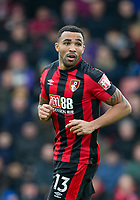Callum Wilson of AFC Bournemouth during the Premier League match between Bournemouth and Arsenal at the Goldsands Stadium, Bournemouth, England on 14 January 2018. Photo by Andy Rowland.