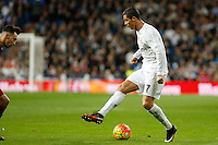 Real Madrid´s Cristiano Ronaldo during 2015-16 La Liga match between Real Madrid and Barcelona at Santiago Bernabeu stadium in Madrid, Spain. November 21, 2015. (ALTERPHOTOS/Victor Blanco) /NortePhoto